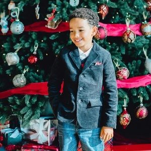 HOPE & HENRY BOY Corduroy Blazer with Elbow Patches